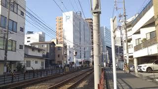 静岡鉄道1000形1001号 普通列車新清水行き 新静岡~日吉町間通過‼️(Shizuoka Railways series1000-1001‼️)