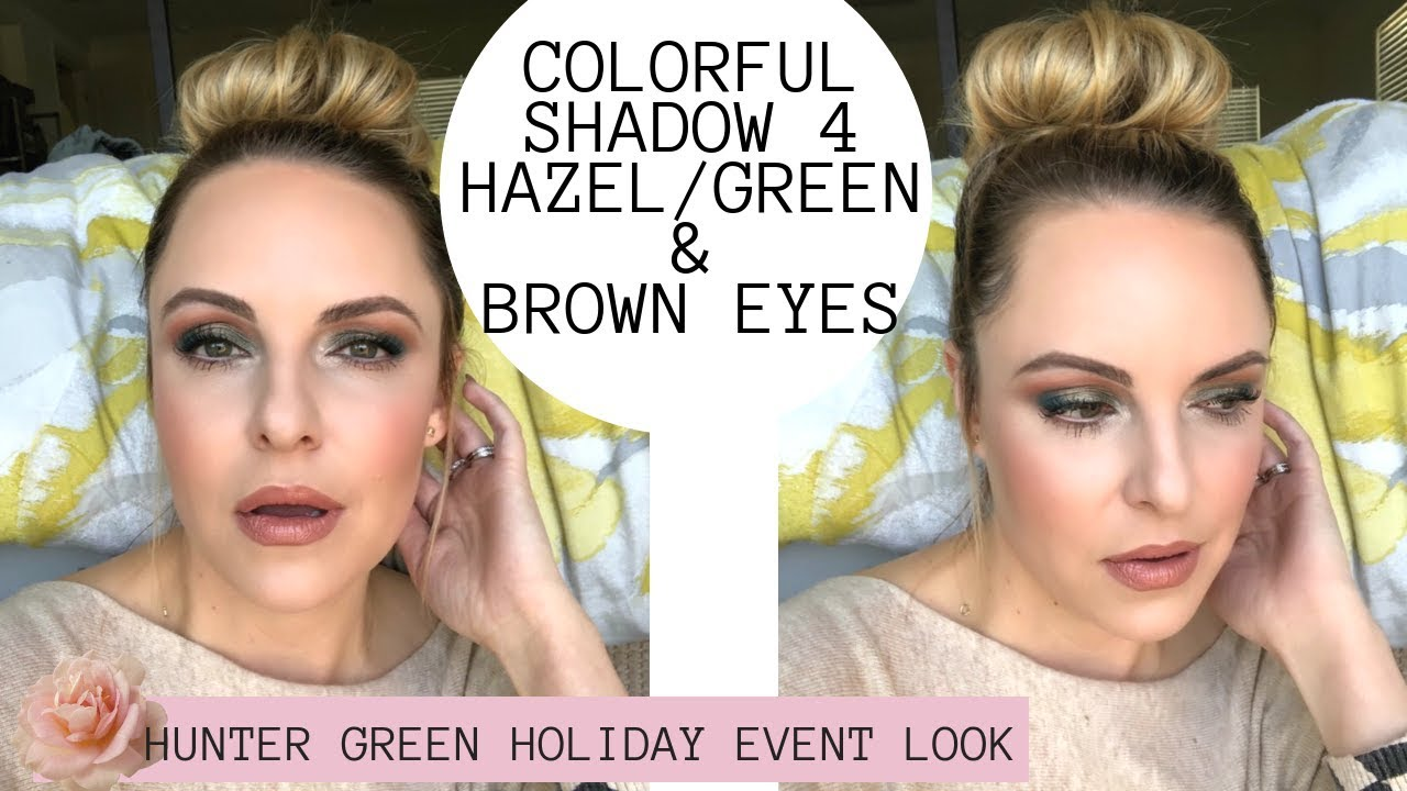 Perfect Soft Glam For Hazel Green Brown Eyes 30 Holiday Event