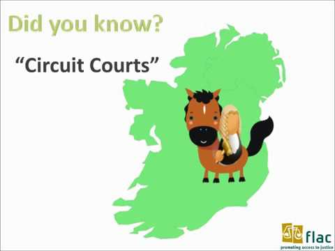A FLAC Introduction to court systems in Ireland