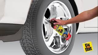 Defekt opravný sprej pro rychlé nouzové opravy pneumatik Slime FIX A FLAT 0,5L