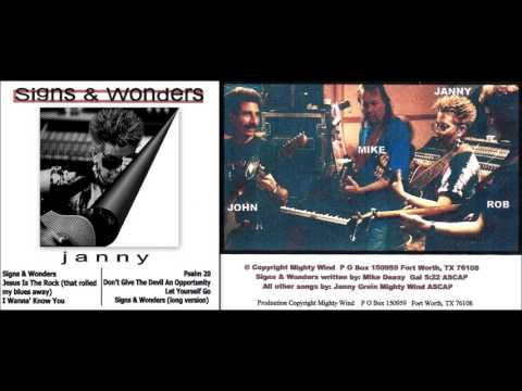 Janny Grein ~ Signs & Wonders [HQ] (SHORT version) Signs & Wonders 2000