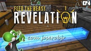 FTB Revelation - Minecraft com Mods 1.12.2 - EP4: Começando Actually Additions