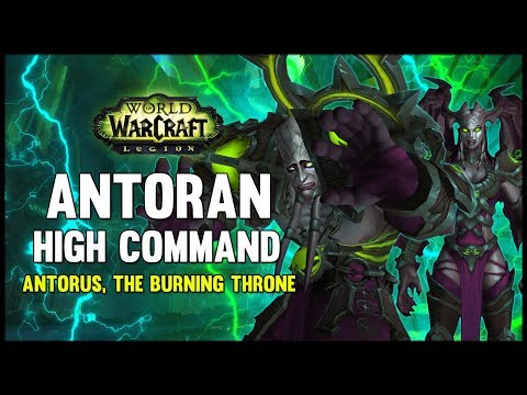 Antoran High Command - Antorus, the Burning Throne - 7.3 PTR - FATBOSS