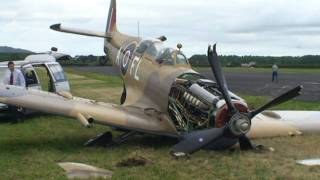 Spitfire Crash, Auckland New Zealand