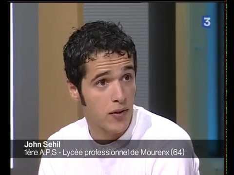 Première apparition de John Sehil à la télévision en Mai 2006