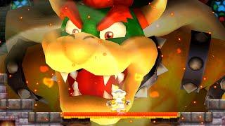 New Super Mario Bros. 2 Walkthrough - World 6 - Final Bowser Boss Battle