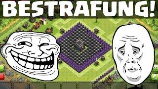 DIE BESTRAFUNG! || CLASH OF CLANS || Let's Play CoC [Deutsch/German HD]