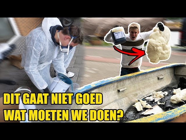 DIT GAAT HELEMAAL MISS | BOOT PROJECT #3