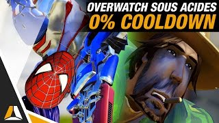 OVERWATCH SOUS ACIDES (0% COOLDOWN) ► GAME CUSTOM FR