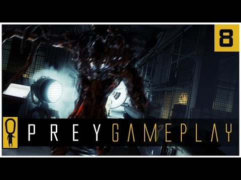 Let's Play PREY Gameplay Part 8 - Looking Glass Conference Room - Walkthrough