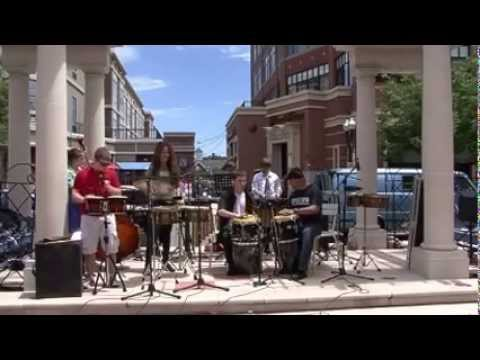 Latin Jazz Percussion Ensemble Spring (2013) - Insight