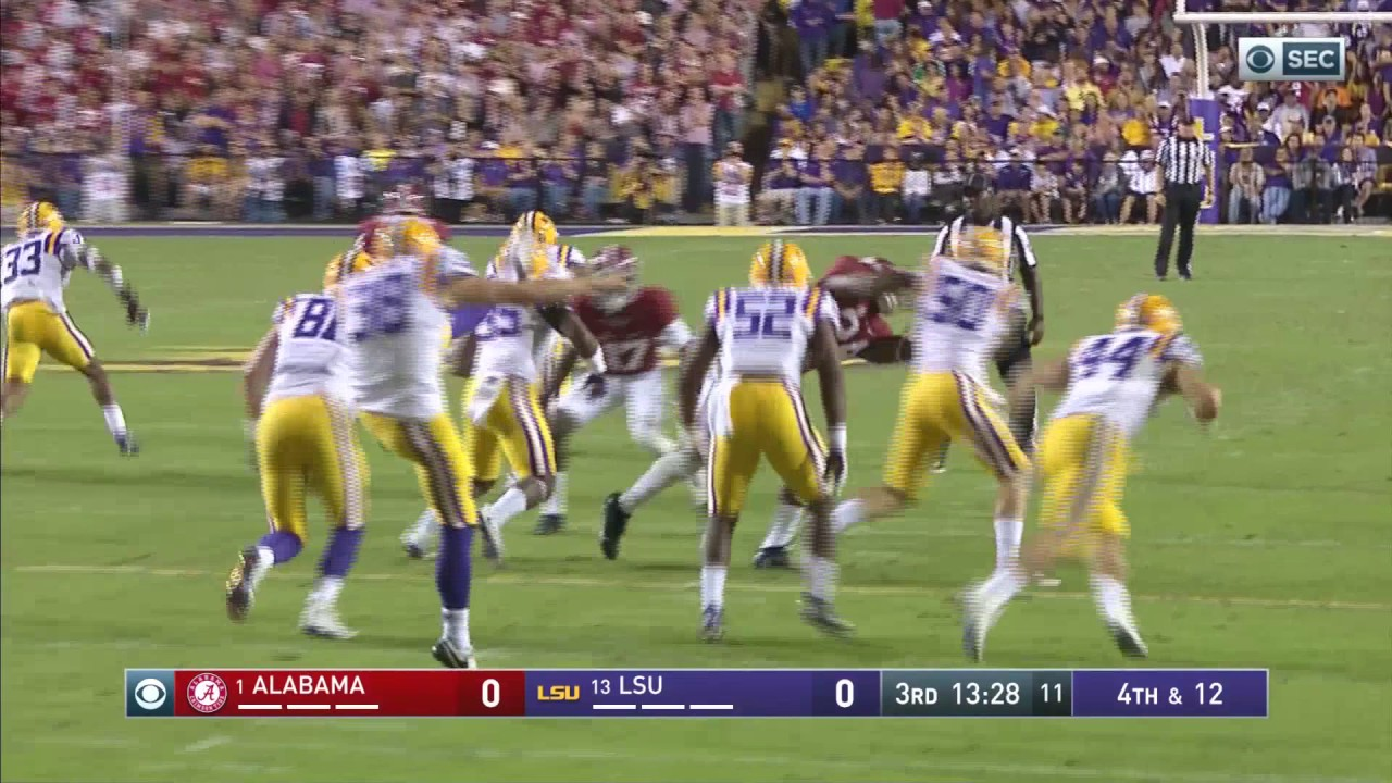 Alabama defeats LSU in the place where things still make sense