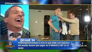 ¡BRUTAL! Cristiano CANTÓ '¿DÓNDE ESTÁ CR7?' y Cristóbal Soria ALUCINA