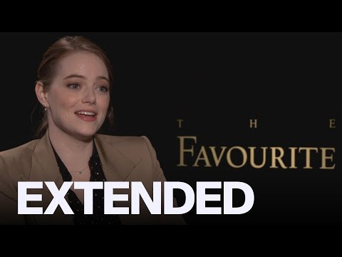 Emma Stone On Jealousy, Olivia Colman And 'The Favourite' | EXTENDED