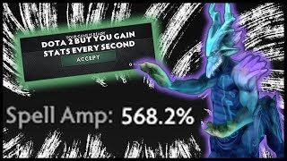 Dota 2 But You Gain Stats Every Second