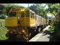 Kuranda Tourist Train Departing Kuranda Railway Station