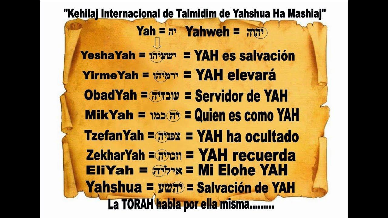 significado de los nombres biblicos