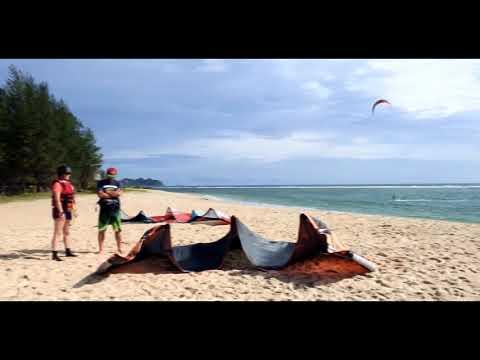 KITE surf in LHOKNGA - ACEH - INDONESIA