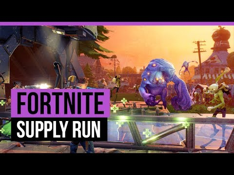 FORTNITE | STONEWOOD - SUPPLY RUN [Quest]