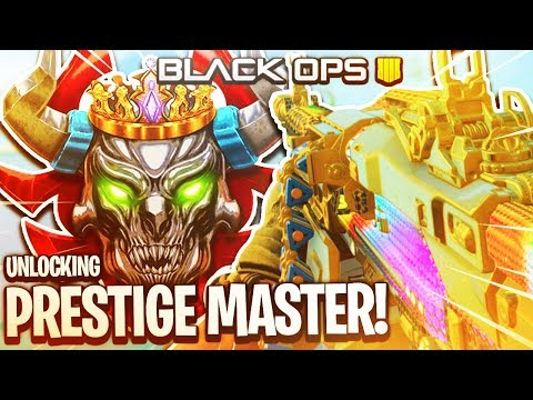 10TH PRESTIGE #1 RANKED Black Ops 4 Player! WORLD'S FIRST Master Prestige (Call of Duty BO4 Live) ​