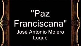 Paz Franciscana - José Antonio Molero Luque [BM]