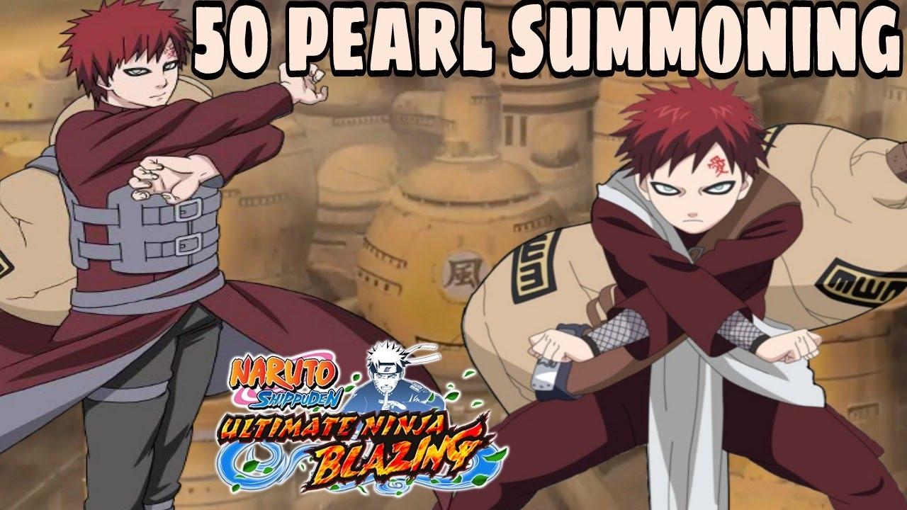 Summoning for Garra!(JP) - Naruto Shippuden Ultimate Ninja Blazing - YouTube