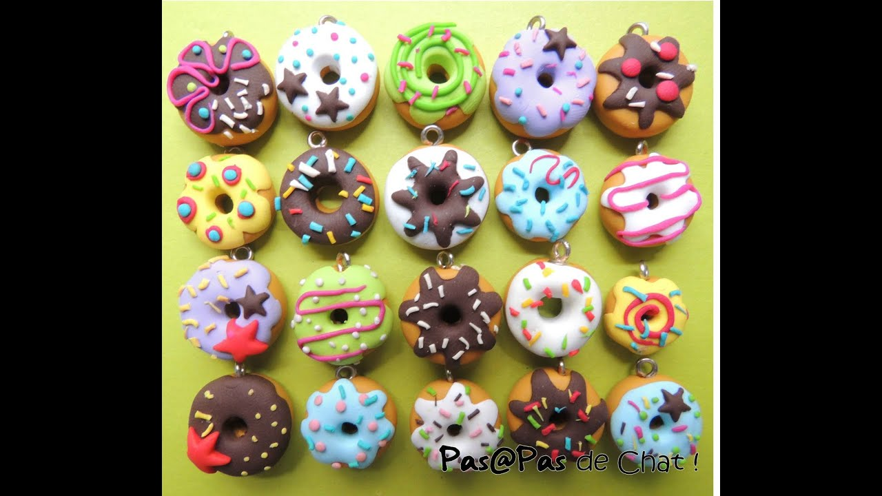 comment faire un donuts en fimo youtube. Black Bedroom Furniture Sets. Home Design Ideas