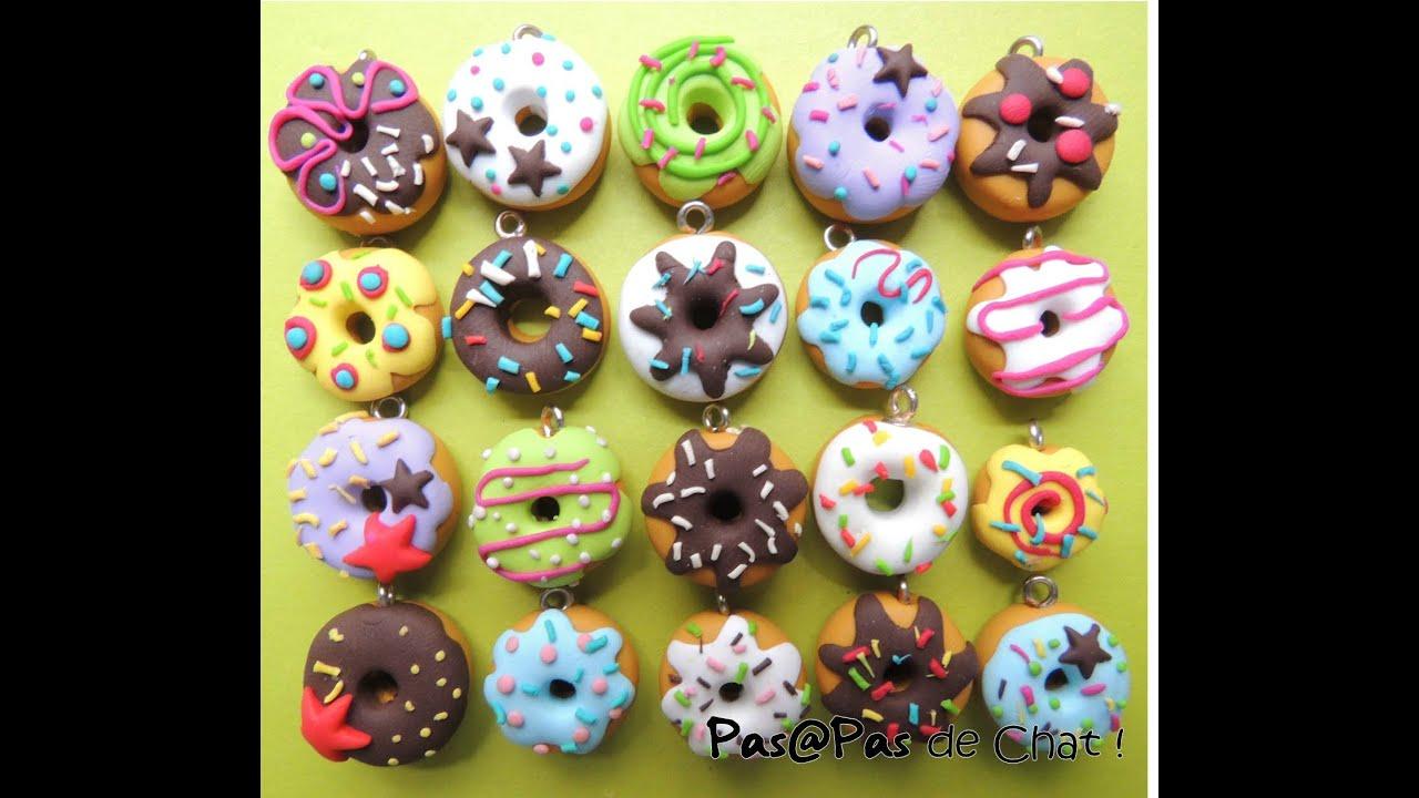 Comment faire un donuts en fimo youtube - Idee pate fimo simple ...