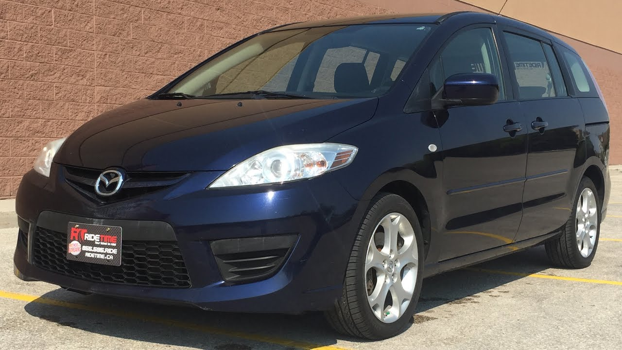 2009 mazda 5 gs automatic alloy wheels 6 passenger for sale in winnipeg mb
