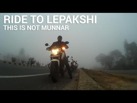 Ride to Lepakshi | Foggy Morning | Honda Hornet 160r
