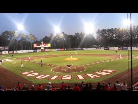 Louisiana Ragin Cajuns Centerfield at 7th Inning S