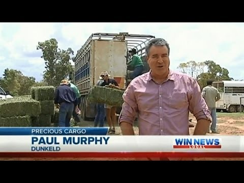 Qld Drought Coverage: Hay Drive (Part 3) - WIN News Rockhampton (2014)