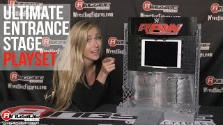 wwe figure insider wwe ultimate entrance stage playset by mattel wrestling figure rsc review