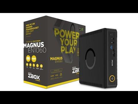 ZOTAC MAGNUS EN1060 Gaming Mini PC Unboxing & Review