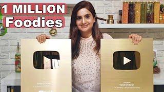 1 Million Live Kanak S Kitchen Youtube
