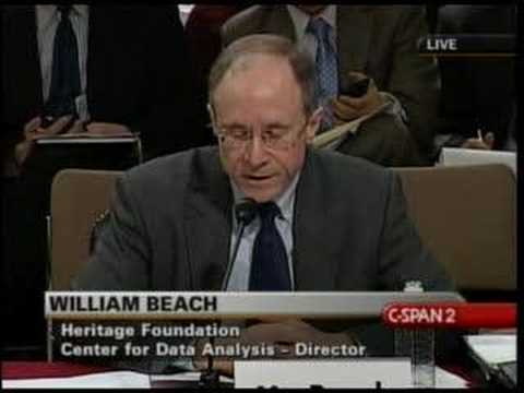 Bill Beach Testifies Before Joint Economic Committee