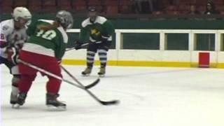 40C Calgary Fading Stars Vs Santa Rosa Emerald Icers Clip 2.avi