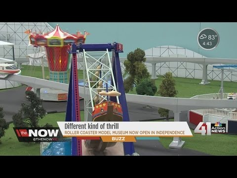 A different kind of thrill: Roller Coaster Model Museum now open in Independence