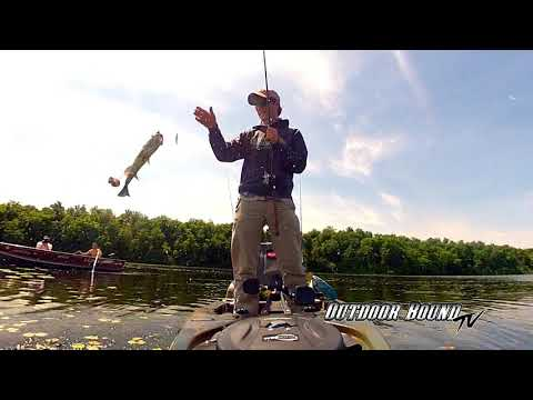 Outdoor Bound TV - Itasca County Minnesota Bass And Walleye EP138