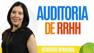 Recursos Humanos Auditoria De Rrhh  Real  Ana María Godinez Software De Rrhh