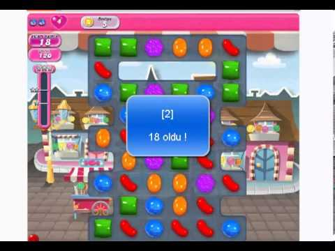 Facebook Candy Crush Saga Sınırsız Hamle Hilesi (Sesli Anlatım)