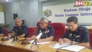 Gading gajah RM300,000 dirampas di KLIA