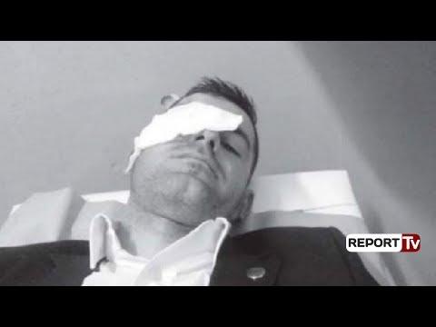 Report TV - Tension dhe dhunë në ndeshjen Flamurtari- Vllaznia