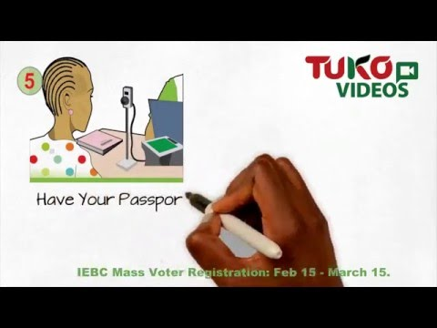 How biometric voter registration process works - IEBC