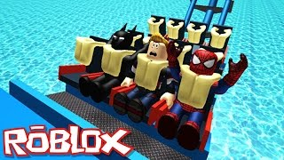 RIDE A ROLLER COASTER IN ROBLOX