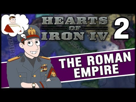 WAR WITH THE CENTRAL POWERS! Hearts of Iron 4 - Roman Empire Campaign Part 2