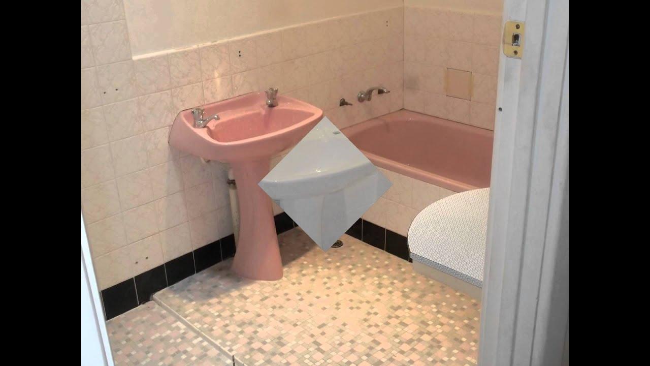 Bathroom Tiles Resurfacing bathroom resurfacing - youtube