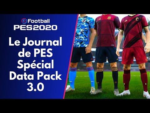 PES 2020 : Le Journal de PES Spécial Data Pack 3.0 !