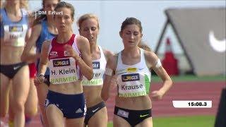 DM Erfurt 2017 - 5000m Frauen