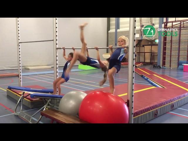 Pullover Drills and Exercises Uneven Bars Gymnastics